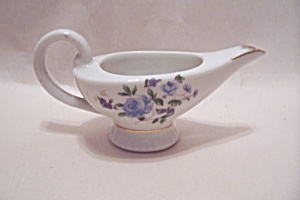 Occupied Japan Miniature Floral Decorated Pitcher