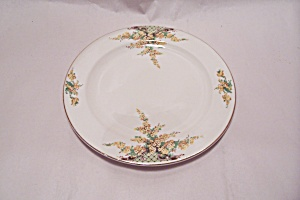 Edwin Knowles Hostess  Yellow Flowers Salad Plate (Image1)