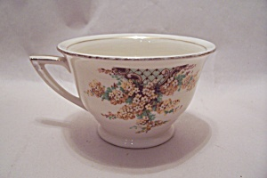 Edwin Knowles Hostess Pattern Yellow Flowers Footed Cup (Image1)