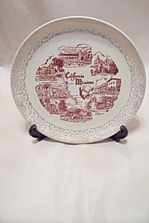 California Missions Collector Plate