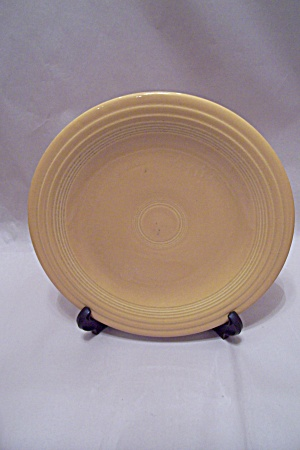 Yellow Fiesta Ware Dinner Plate