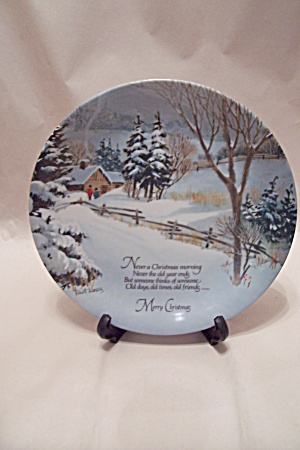 Commemorative Edition Christmas Plate