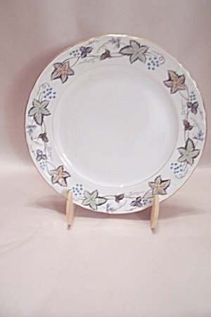 Style House Bordeaux Pattern Fine China Salad Plate