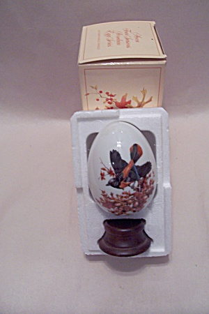 Avon Porcelain Egg - Autumn Brings Magic Changes (Image1)