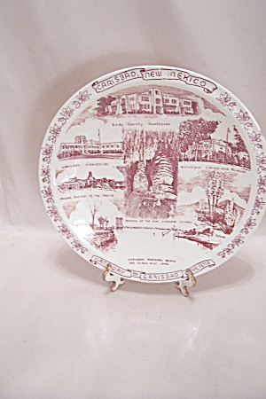 Vernon Kilns Carlsbad, New Mexico Collector Plate