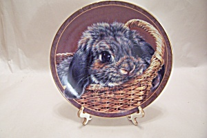 Bradford Exchange's - Basket Case Collector Plate