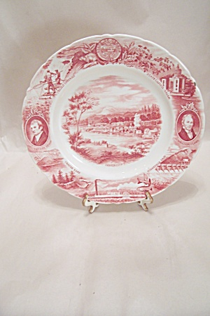 Oregon State Souvenir Collector Plate