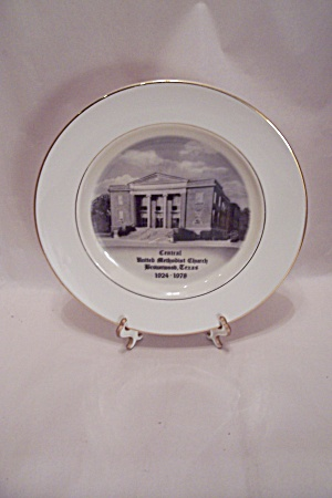 Central United Methodist Church Collector Plate