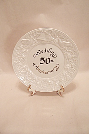 50th Wedding Anniversary Collector Plate