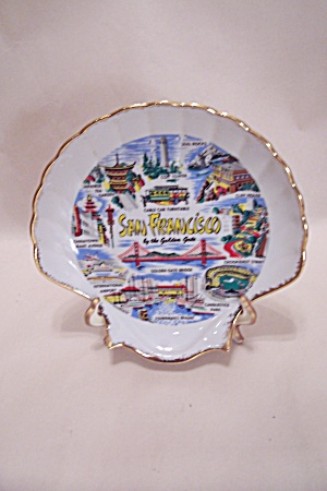 San Francisco Souvenir Collector Plate (Image1)
