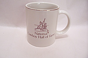 National Cowboy Hall Of Fame Porcelain Mug (Image1)