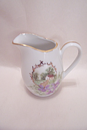 Handpainted Cream Pitcher (Image1)