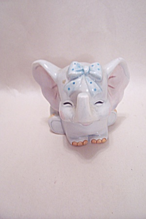 Ceramic Elephant Card Holder