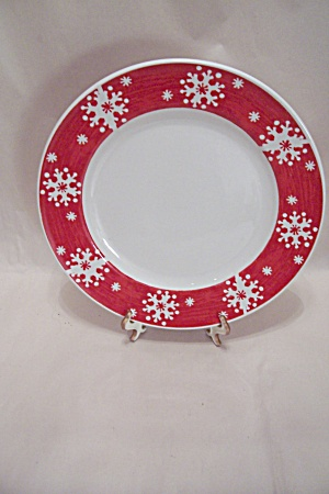 Royal Norfolk Snowflake Plate