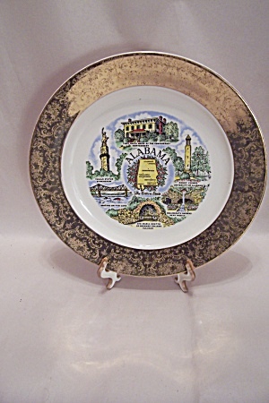 Alabama Souvenir Collector Plate