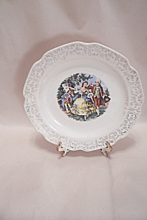 Colonial Rural Scene Collector Plate