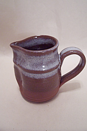 Art Pottery Handmade Cream Pitcher