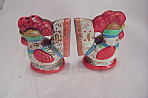 Occupied Japan Rooster Salt & Pepper Shaker Set (Image1)