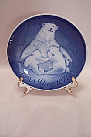 Mors Dag (Mother's Day) 1971 Polar Bear Collector Plate