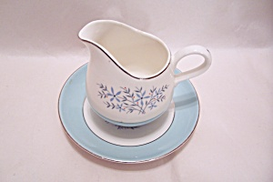 1950s Era Creamer And Matching Saucer (Image1)