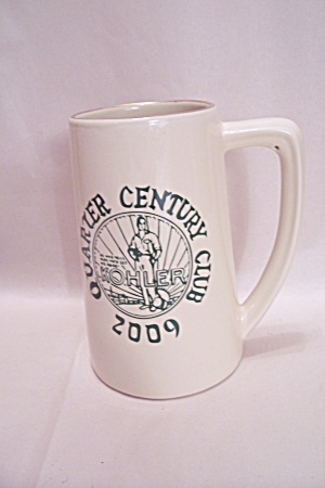 Kohler Compamy 25 Year Award Beer Stein/coffee Mug