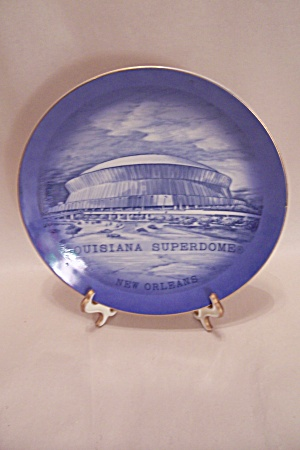 Louisiana Superdome Collector Plate