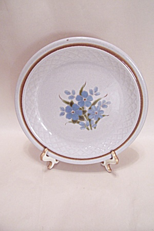 Blue Flower Collector Plate