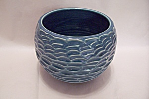 Greenish-Blue Art Pottery Bowl (Image1)