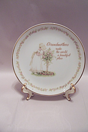 Grandmothers Commemorative Collector Plate