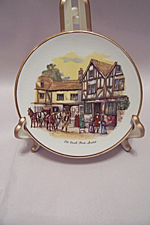 Old Coach House, Bristol Collector Plate (Image1)