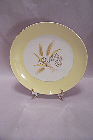 Cemtury Services Autumn Gold Pattern Dinner Plate (Image1)