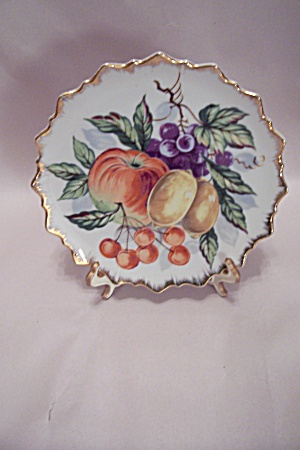 Fruit Motif Collector Plate