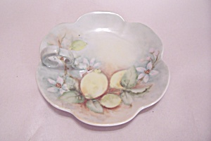 Handpainted Candy Dish With Handle