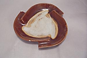 Royal Haeger Brown Drip Ash Tray (Image1)
