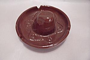 Brown Sombrero Ash Tray (Image1)