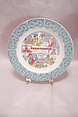 Pennsylvania Souvenir Collector Plate