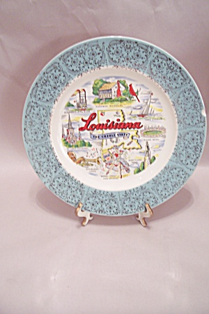 Louisiana Souvenir Collector Plate