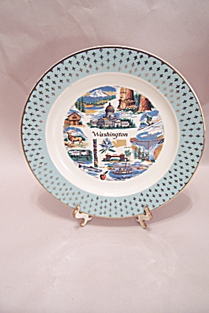 Washington Souvenir Collector Plate