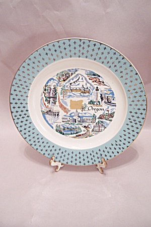 Oregon Souvenir Collector Plate