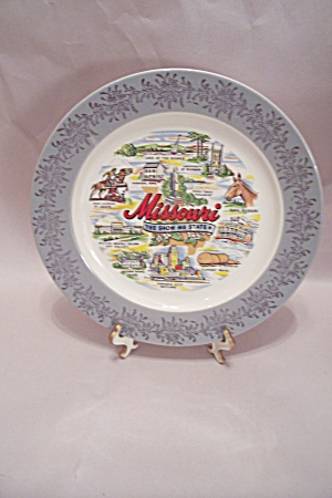 Missouri Souvenir Collector Plate