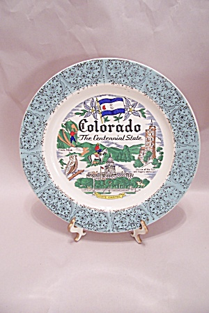 Colorado Souvenir Collector Plate (Image1)