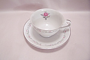 Royal Swirl Fine China Cup & Saucer Set