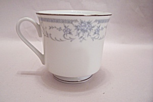Sheffield Blue Whisper Fine China Footed Teacup