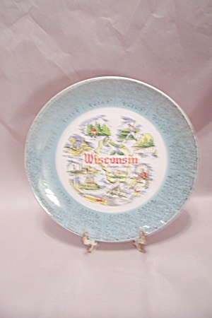 Wisconsin Souvenir Collector Plate