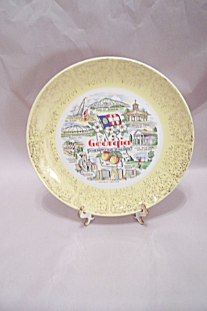 Georgia Souvenir Collector Plate (Image1)