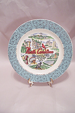 North Carolina Souvenir Collector Plate (Image1)
