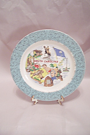South Carolina Souvenir Collector Plate (Image1)