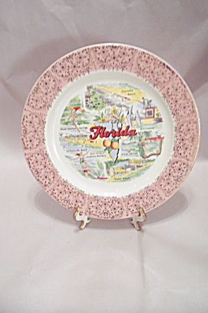 Florida Souvenir Collector Plate