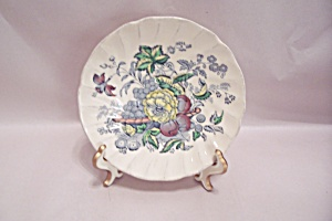 Kirkwood Multicolor Flowers-fruit Pattern Dinner Plate