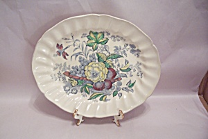 Kirkwood Multicolor Flowers & Fruit Pattern Dishes